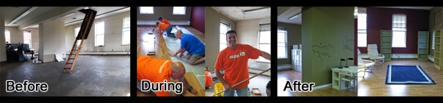 Home Depot Volunteers in Trenton, NJ