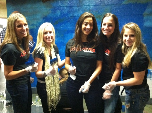 Aeropostale Volunteers in Newark, NJ