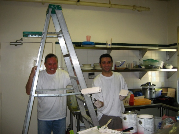 Roche volunteers