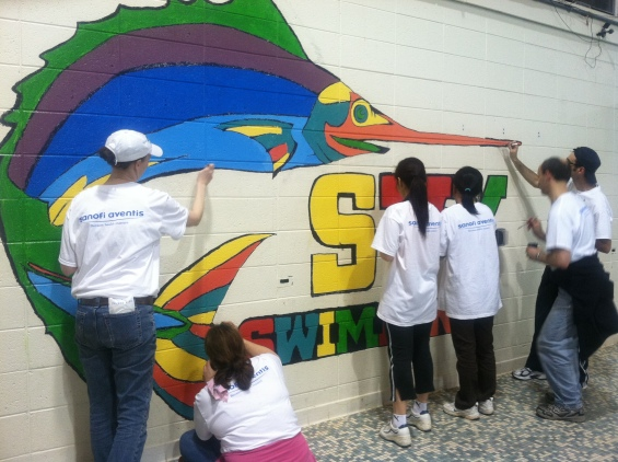Sanofi volunteers in bridgewater, nj