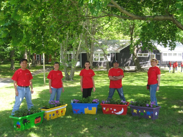 ImClone volunteers in Oakhurst, NJ