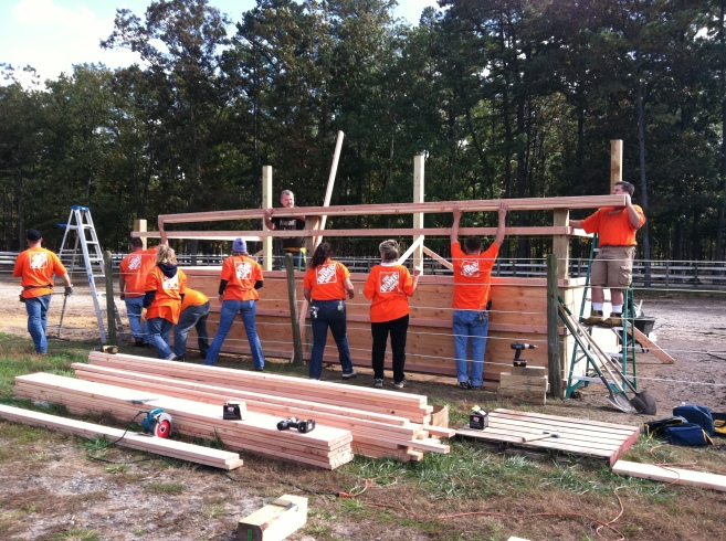 Home Depot Volunteers in Egg Harbor, NJ