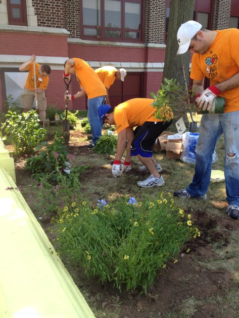 NBA Volunteers in Newark, NJ