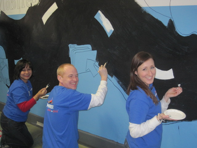 Southwest Airline Volunteers in Newark, NJ