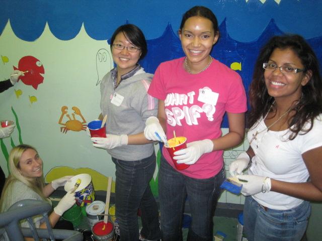 Volunteers in Jersey City, NJ