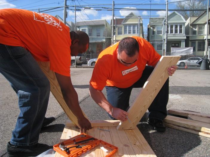 Home Depot Volunteers in NJ