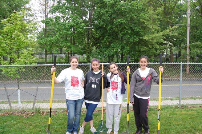 Volunteers in Morristown, NJ