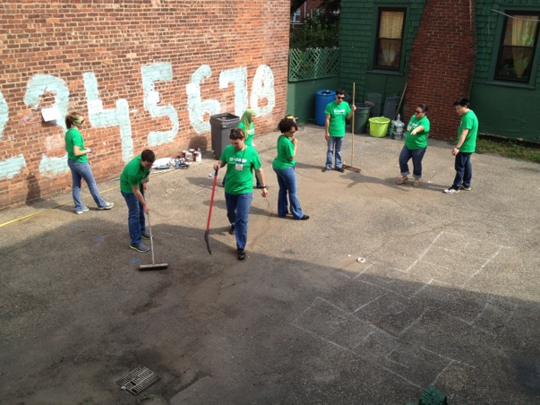 BASF volunteers in New Jersey