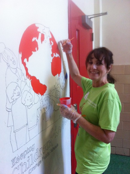 Crum & Forster volunteer in NJ