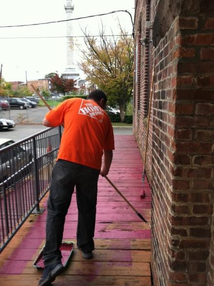 Home Depot Volunteer in Trenton, NJ