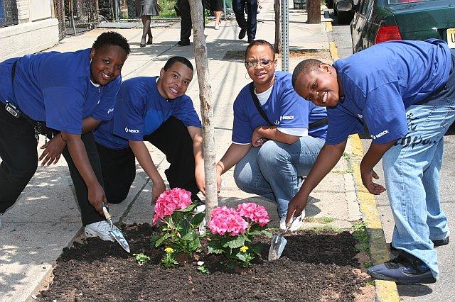 volunteers in Newark, NJ