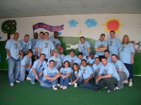 NBA Volunteers in New Jersey
