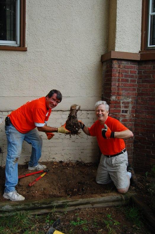 Home Depot Volunteers in Orange, NJ
