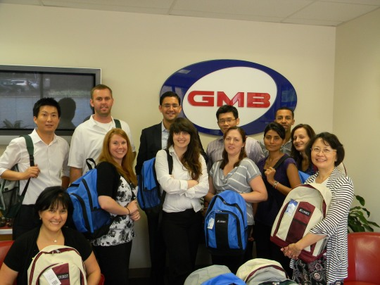 Jersey Cares Backpack Drive with GMB