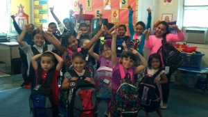DAY 37 Kids & Backpacks-school supply drive 2013