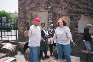 DAY 123 happy volunteers Newark Conservatory JC 04